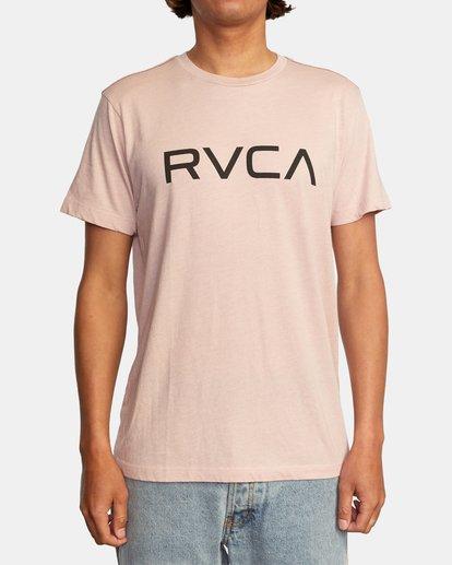 1 BIG RVCA SHORT SLEEVE TEE Grey M420VRBI RVCA