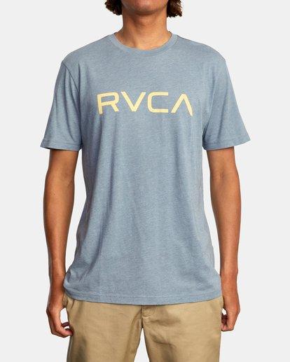 2 BIG RVCA SHORT SLEEVE TEE Grey M420VRBI RVCA