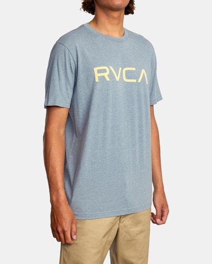 6 BIG RVCA SHORT SLEEVE TEE Grey M420VRBI RVCA