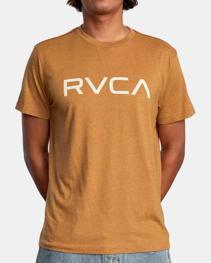 2 BIG RVCA SHORT SLEEVE TEE Blue M420VRBI RVCA