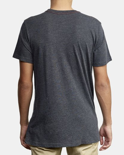 2 Out There TEE Black M420WROT RVCA