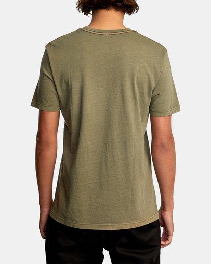 2 PTC 2 Pigment TEE Green M437VRPT RVCA