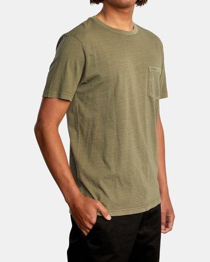 5 PTC 2 Pigment TEE Green M437VRPT RVCA