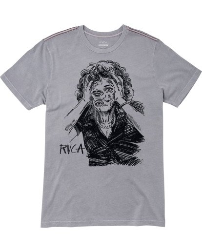 0 CHANGING FACE SHORT SLEEVE TEE  M4383RCF RVCA
