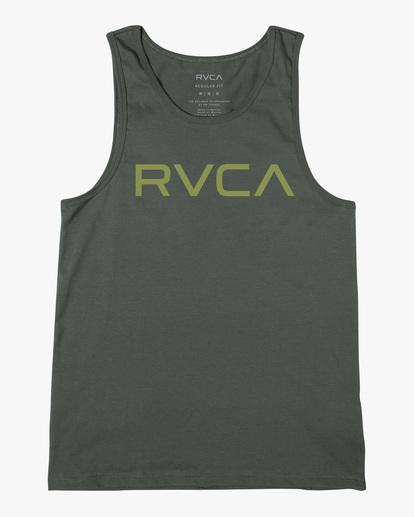 0 BIG RVCA TANK TOP Green M4812RBI RVCA