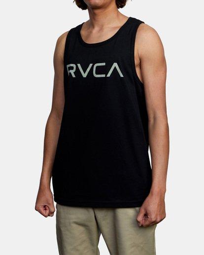 3 BIG RVCA TANK TOP Black M4812RBI RVCA