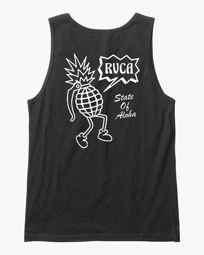 0 Happy Aloha Tank Top Black M481VRHA RVCA