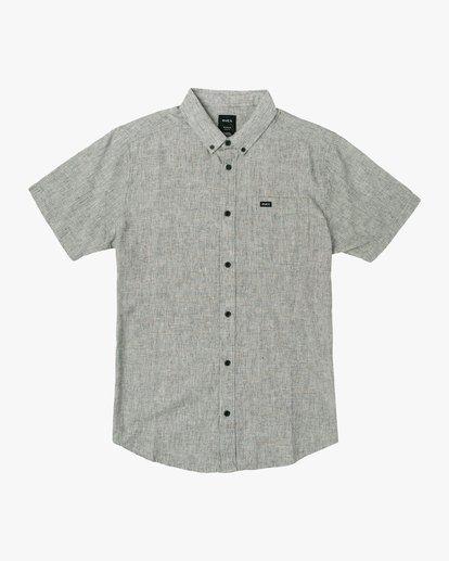 0 That'll Do Textured Button-Up Shirt  M501VRTT RVCA