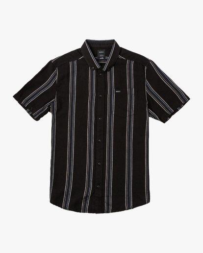 0 Split Stripe Button-Up Shirt  M509VRSS RVCA
