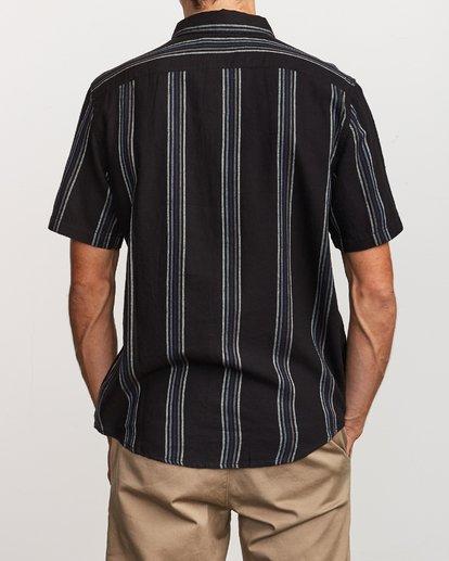 2 Split Stripe Button-Up Shirt  M509VRSS RVCA