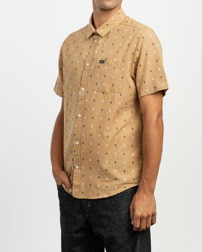 4 Aye Kat Button-Up Shirt  M514TRAK RVCA