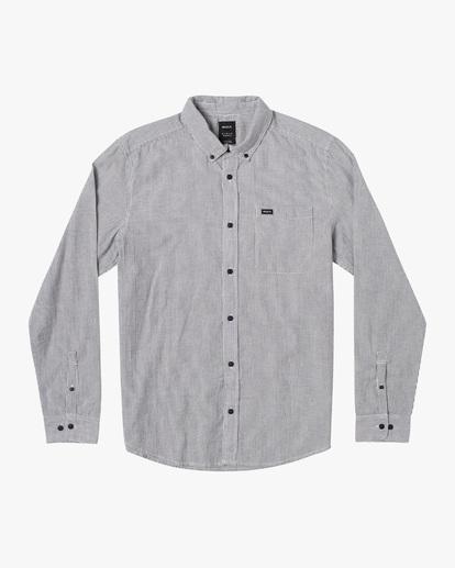 0 Endless Seersucker Long Sleeve Shirt Blue M5192REN RVCA