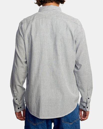 2 Endless Seersucker Long Sleeve Shirt Blue M5192REN RVCA