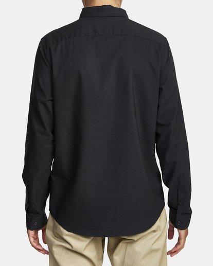 2 That'll Do Stretch Long Sleeve Shirt Black M551VRTD RVCA