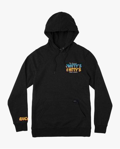 1 Matty's Patty's Black Hoodie  M622URMP RVCA