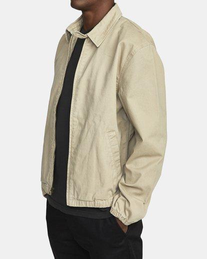2 Piston Jacket Beige M7093RPI RVCA