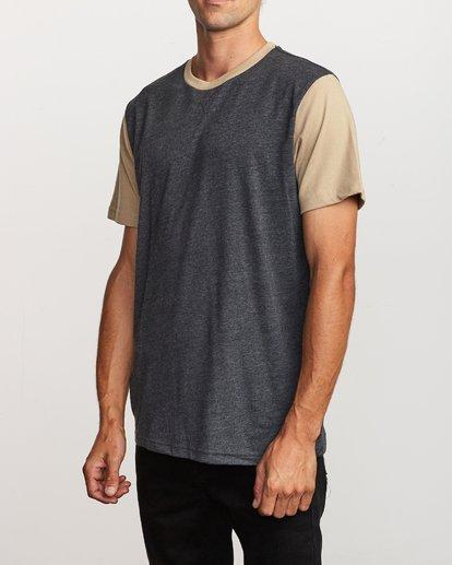 3 Pick Up Knit Shirt Black M913QRPU RVCA