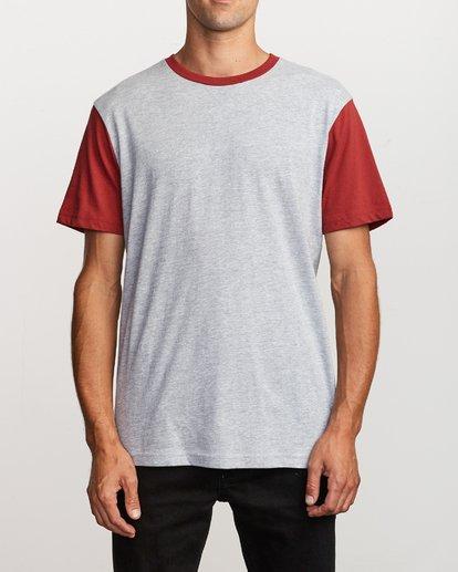 1 Pick Up Knit Shirt Red M913QRPU RVCA