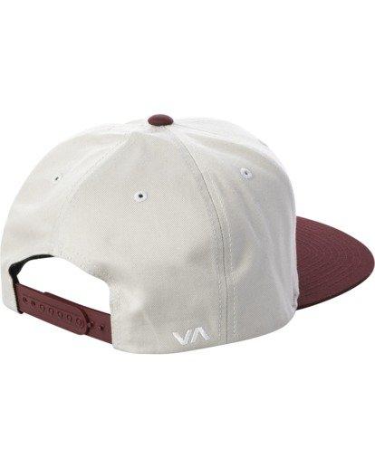 2 RVCA TWILL II SNAPBACK HAT Grey MAAHWRSB RVCA