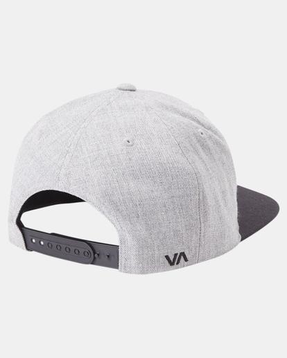 6 RVCA Twill II Snapback Hat Green MAAHWRSB RVCA