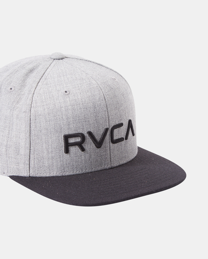 4 RVCA Twill II Snapback Hat Yellow MAAHWRSB RVCA