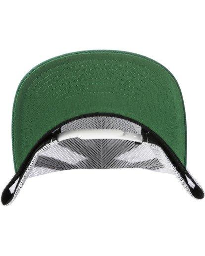3 VA ATW TRUCKER HAT Green MAAHWVWY RVCA