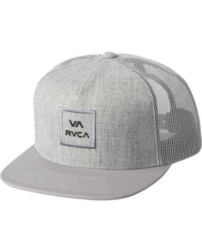 0 VA ATW TRUCKER HAT Grey MAAHWVWY RVCA