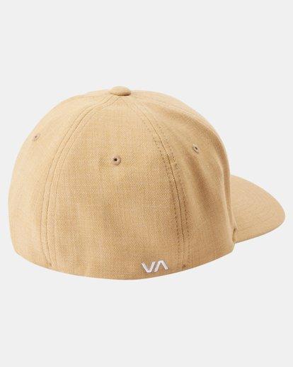 1 Shane FlexFit Hat Brown MAHW3RSF RVCA