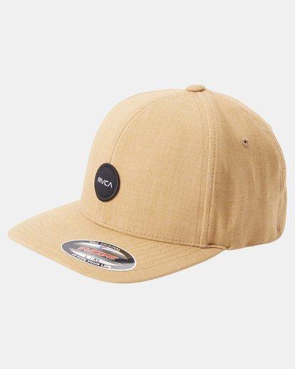 0 Shane FlexFit Hat Brown MAHW3RSF RVCA
