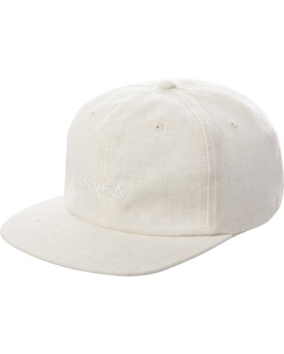 0 TONALLY EMBROIDERED HAT White MAHWQRTL RVCA
