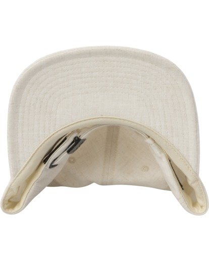 3 TONALLY EMBROIDERED HAT White MAHWQRTL RVCA