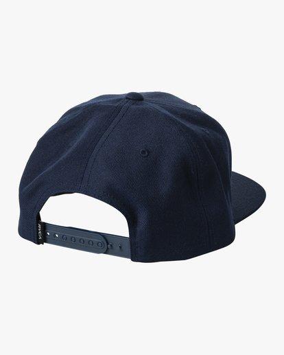 1 VA Patch Snapback Hat White MAHWVRVP RVCA