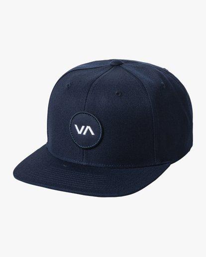 0 VA Patch Snapback Hat White MAHWVRVP RVCA