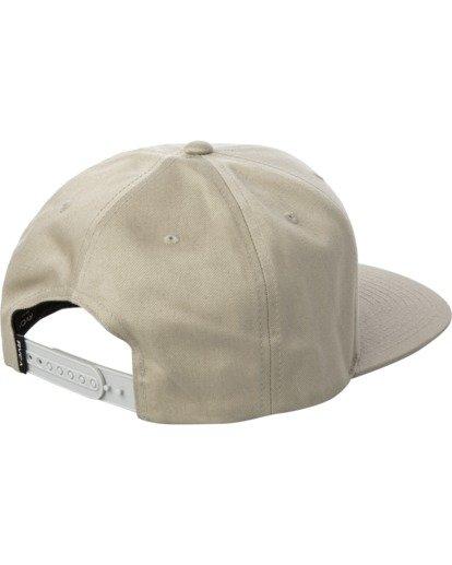 1 VA Patch Snapback Hat Purple MAHWVRVP RVCA