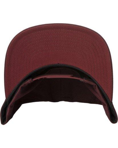 3 VA Patch Snapback Hat Purple MAHWVRVP RVCA