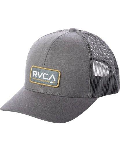 0 Ticket III Trucker Hat Green MAHWWRTT RVCA