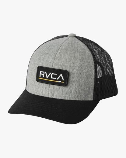 0 TICKET III TRUCKER HAT Yellow MAHWWRTT RVCA
