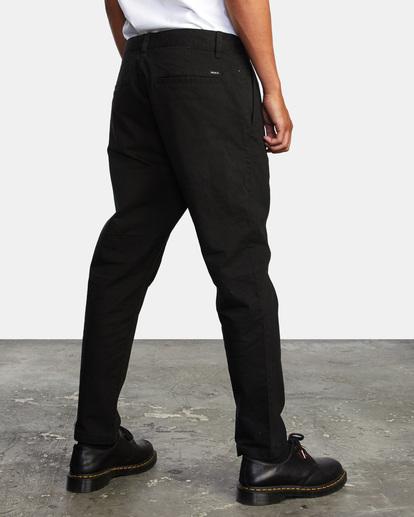 4 HITCHER PANT Black ME303HIT RVCA
