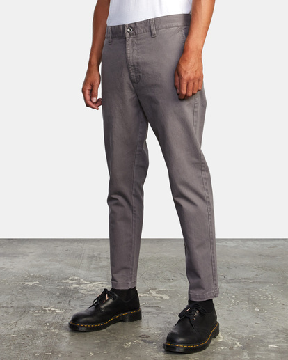 3 HITCHER PANT Grey ME303HIT RVCA