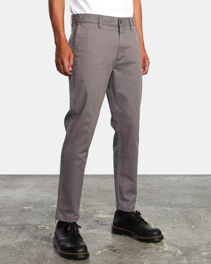 5 HITCHER PANT Grey ME303HIT RVCA