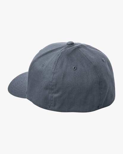 2 RVCA FlexFit Hat Blue MHAHWRFF RVCA