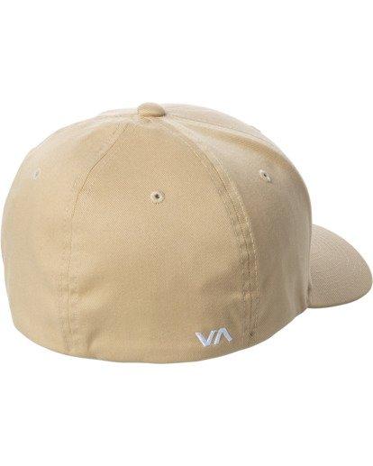 1 RVCA FLEX FIT HAT Purple MHAHWRFF RVCA