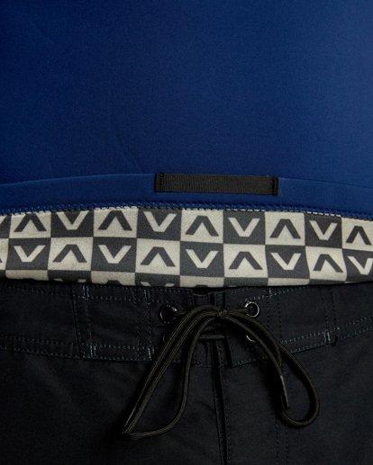 8 Ancell Back Zip Neoprene Wetsuit Jacket Blue MR03URBZ RVCA
