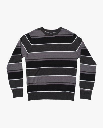 0 ALEX STRIPE CREW sweater Orange MV313RAL RVCA