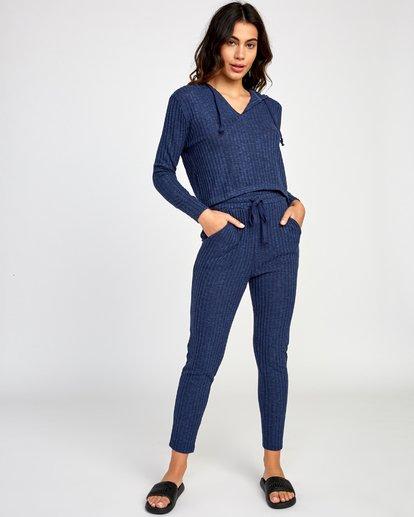 4 Mesa Pullover  - Top à capuche pour Femme Bleu Q3HORHRVF9 RVCA