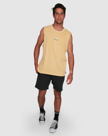 6 VA SANDS MUSCLE Yellow R105002 RVCA