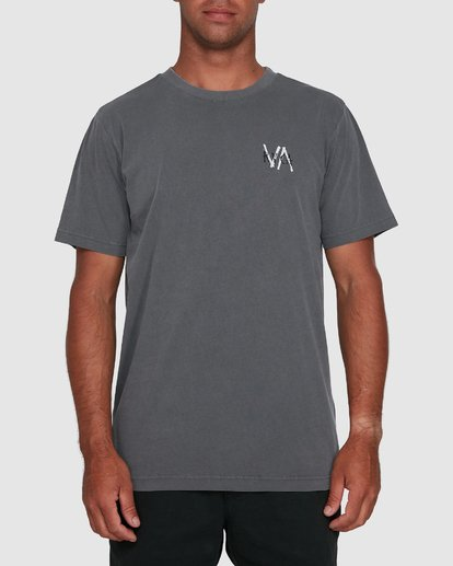 1 VA SANDS SHORT SLEEVE TEE Grey R105045 RVCA