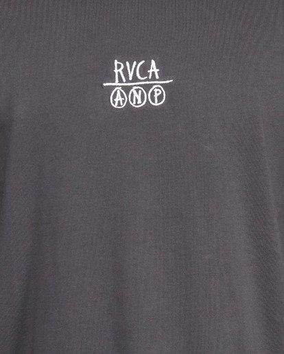 5 RVCA ANP SHORT SLEEVE TEE  R105047 RVCA
