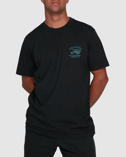 0 RVCA TOWING SHORT SLEEVE TEE  R105061 RVCA