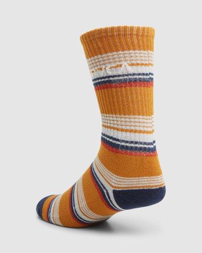 5 Rvca Seasonal Sock 4 Pack  R105601 RVCA